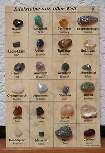 Mineraliensammlung - Edelsteine aus aller Welt