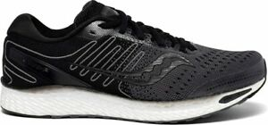 Saucony Men's Freedom 3 Running Shoes, Black/White, 10 D(M) US