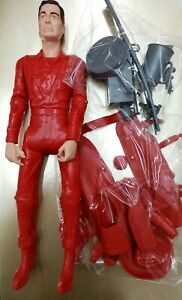 JOHNNY WEST RED WITH FULL ACCESORIES RED CLOTHES