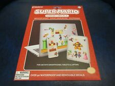 Super Mario Bros. Laptop And Cellphone Decals New / Sealed