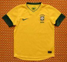 2012 - 2013 Brazil, Home Shirt by Nike, Boys, Youth Medium, 140-152