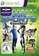 XBOX 360 GIOCO KINECT SPORTS SEASON 2 parte 2 II 6 GIOCHI GOLF TENNIS Nuovo Darts