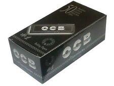 Full Box (50) OCB Premium Black Small Size Standart Size Rolling Papers