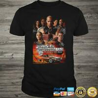 Fast And Furious Full Characters Signature t shirt Funny Vintage Gift For Men