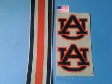 Auburn Tigers football helmet decals set