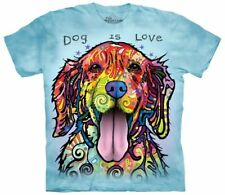 Dog Is Love Animal T Shirt Child Unisex The Mountain Small