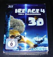 ICE AGE 4 VOLL VERSCHOBEN 3D BLU-RAY 3D + 2D ENVÍO RÁPIDO NUEVO Y EMB. ORIG.