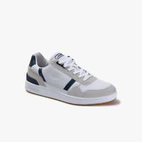 Lacoste 39SM0057 Scarpa T-Clip Sneaker da Uomo Bianco Pelle Scamoscio -15% S/S