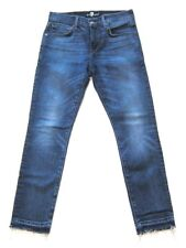 Mens 7 Seven For All Mankind Jeans Paxtyn Released Hem In Timelapse  sz 31