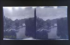 Uzerche CorrèzePhoto stéréo négatif sur film souple 1914
