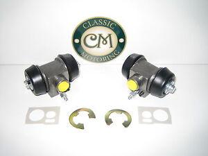 "MG Midget Austin Healey Sprite - Rear Brake Wheel Cylinders x 2 (Disc Fr) 3/4"""