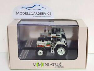 """Mo-Miniatur 1/87: 20847 Traktor Steyr 8130 """"Super Elite"""", mit Frontgewicht"""