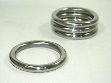 "191517 Sea-Dog Line Four-Pack (4) Stainless Steel Round Rings 1-3/4"" ID 132-2059"