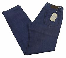 "Brioni Livigno Jeans Handmade in Italy BNWT Luxury Blue Denim Size 32"" £390"