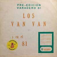 Los Van Van PreEdicion Varadero 81 Areito Egrem Habana Siboney Cuba Juan Formell