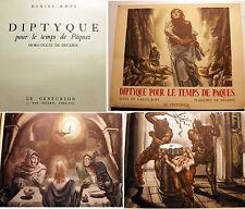RELIGION/PAQUES/DIPTYQUE POUR LE TEMPS DE../D-ROPS/ED CENTURION/1953/DECARIS ILL