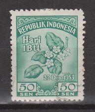 Indonesia Indonesie  118 used gestempeld 1953 Motherday, moederdag