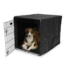 Cover FOR Dog Crate Pet Cat Cage Kennel Privacy 42-Inch Black