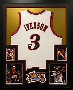 Allen Iverson Framed Jersey JSA Autographed Signed Philadelphia 76ers Sixers