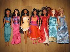 Disney Princess Doll's Bundle / Job Lot Esmeralda , Mulan, Merida & More