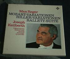 Max Reger/Keilberth MOZART/Hiller variations German 2lp TELEFUNKEN TK 11 520