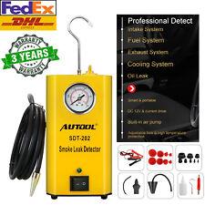 AUTOOL SDT202 Car Smoke Leak Detector EVAP Machine EVAP Fuel Pipeline Diagnostic