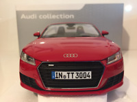 Minichamps 5011400525 Audi TT Roadster Tango Red 1:18 Scale NEW