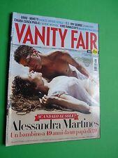Vanity Fair rivista 1 agosto 2012 Alessandra Martinez