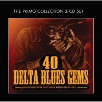 40 Delta Blues Gems - Various Artists (NEW 2 x CD)