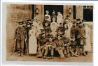 WW1 Photograph - Group of Wounded Soldiers with Nurses & Dog