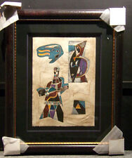 """Neal Doty""""Flash Back Doors"""" Hand Signed Artwork MAKE AN OFFER with custom frame"""