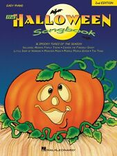 The Halloween Songbook 2nd Edition Sheet Music Easy Piano SongBook NEW 000310162