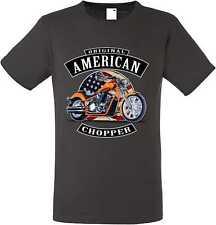 T Shirt Graphiteton V Twin-, Biker-,Chopper-&Oldschoolmotiv Modell Original