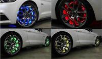 17.5'' RGB LED Strip Multiple Colorshifting LED Wheel Ring Light Brake Function