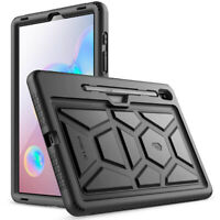 Galaxy Tab S6 10.5 inch Tablet Case Poetic Soft Silicone Protective Cover Black