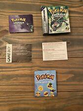 Pokemon Emerald Game Boy Advance Box & Inserts NO GAME RARE SHIPS QUICK & FREE!