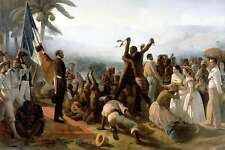 Proclamation of the Abolition of Slavery French Colonies 1848 7x5 Inch Print