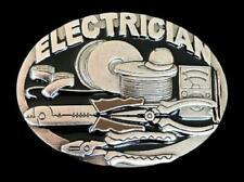 Electrician French Electricien Tools Occupational Belt Buckle Boucle de Ceinture