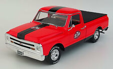 1968 CHEVY C10 STP PICKUP TRUCK & TRAILER RACING 1:18 DIECAST REPLICARZ ACME GMP