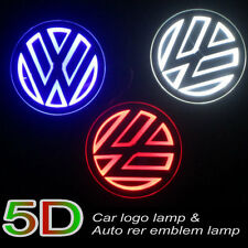 5D LED Car Logo Light Badge Embem for VW Golf6 Mogatan CC Tiguan/Bora/Scirocco