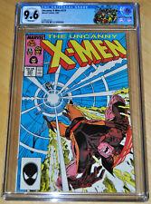 Uncanny X-Men #221 CGC 9.6 (1st Mister Sinister-Nathaniel Essex) (WHITE PAGES)!!