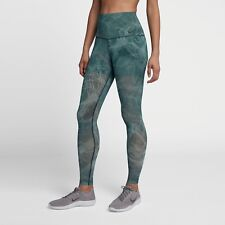ec76c5b3393 Nike Power Studio High Rise Training Tights Green Ah3909 006 Size M