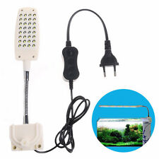 LED Aquarium Light Flexible Arm Clip on Plant Grow Fish Tank Lighting Lamp Hot