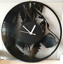 Animal wall clocks Vinyl cut, Dog Breeds, Cats, Birds, British & Exotic Wildlife