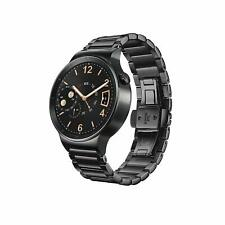 BRAND NEW Huawei W1 Active Smartwatch with Plated Stainless Steel Strap - Black