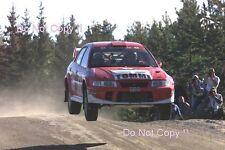 Tommi Makinen Mitsubishi Lancer Evo 6.5 1000 Lakes Rally 2001 Photograph 1