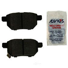Disc Brake Pad Set Rear WD Express 520 13540 032