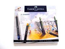 Faber Castell 24 Goldfaber Farbstifte  im Metalletui