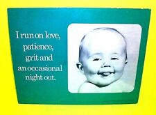 Vtg Mini Cardboard Counter Desktop Poster Store Display 1974 by April House Baby