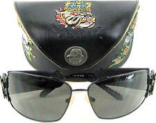 Ed Hardy Men Fashion Sunglasses Designer Embroidered Hard Case EHS 0176313120